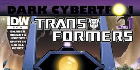 Transformers Dark Cybertron cover wide
