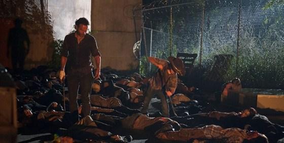 The Walking Dead 405 Rick Carl dead walkers