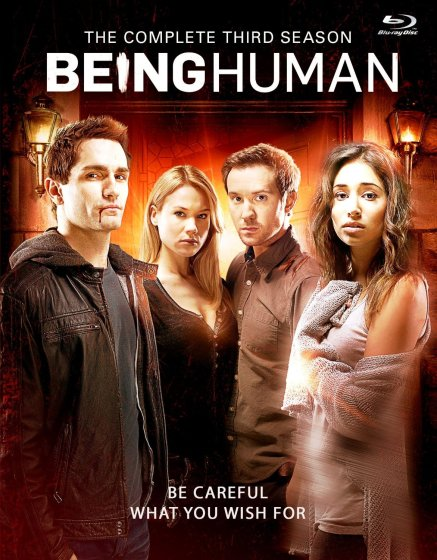 Being Human s3 Blu-ray cover
