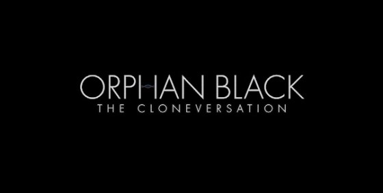 Orphan Black the Cloneversation logo wide