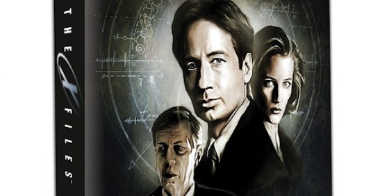 X-Files board game wide