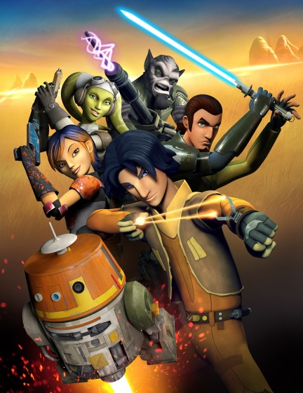 Star Wars Rebels Heroes poster