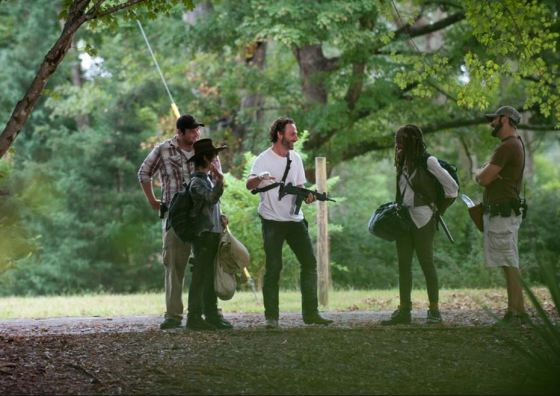 The Walking Dead BTS 410