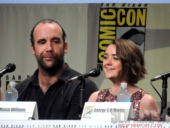 Game of Thrones SDCC 2014 04b McCann Williams