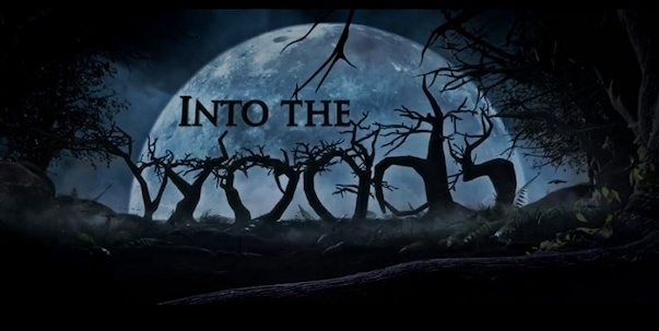 Into the Woods movie logo wide