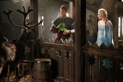 Once Upon a Time 401 Sven Kristoff Elsa