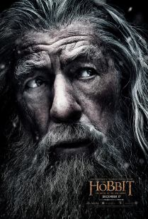 The Hobbit TBOTFA character poster Gandalf
