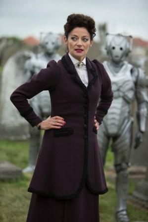 Picture shows: MICHELLE GOMEZ as Missy, Cybermen