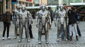 Picture shows: Cybermen