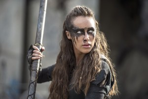 """The 100 -- """"Watch The Thrones"""" -- ImageHU304a_0301 -- Pictured: Alycia Debnam-Carey as Lexa -- Credit: Cate Cameron/The CW -- © 2016 The CW Network, LLC. All Rights Reserved"""