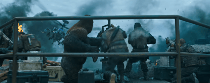 War of the Planet of the Apes (494)