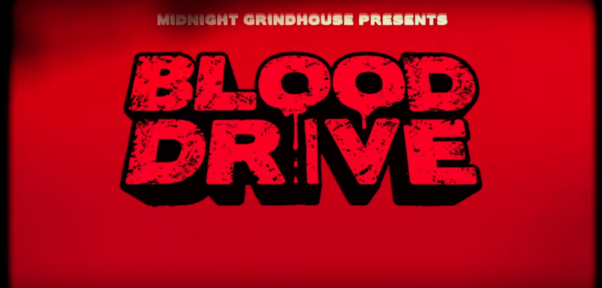 "Check out the gruesome new ""Grindhouse-Infected"" trailer for Syfy's Blood Drive!"