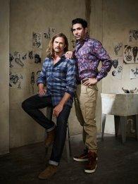 MIDNIGHT, TEXAS -- Season: 1 -- Pictured: (l-r) Jason Lewis as Joe, Bernardo Saracino as Chuy -- (Photo by: Virginia Sherwood/NBC)