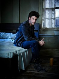 MIDNIGHT, TEXAS -- Season: 1 -- Pictured: Francois Arnaud as Manfred -- (Photo by: Virginia Sherwood/NBC)
