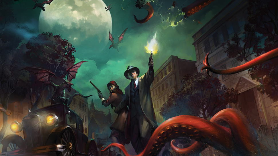 Arkham Horror: The Card Game - The cult board game turned RPG card game gathers it's own cult.
