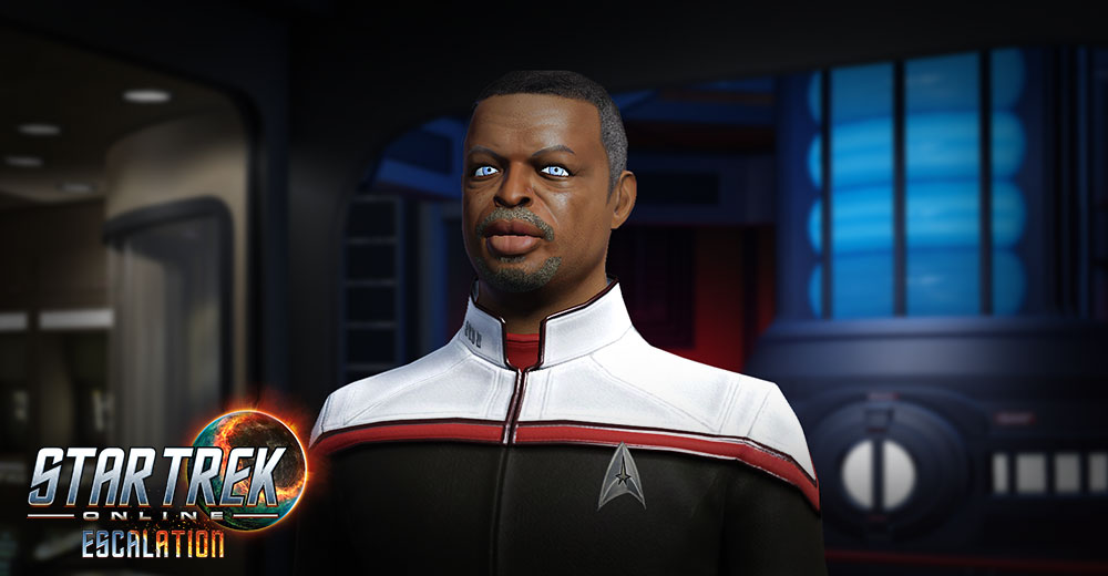 LeVar Burton aka Captain Geordi La Forge comes to Star Trek Online's Season 14 - Emergence.