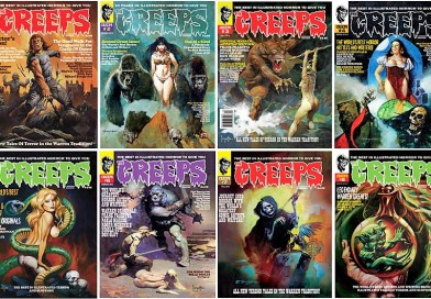 The Creeps – A horror comics anthology living in the Now with terror from the Past! Hell Yeah, Baby!