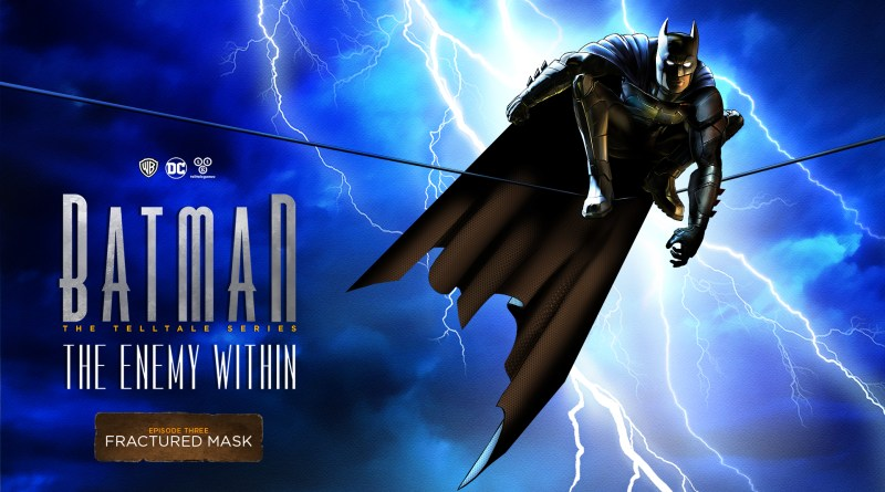 Telltale Games' Batman: The Enemy Within Episode 3- 'Fractured Mask' is out now.