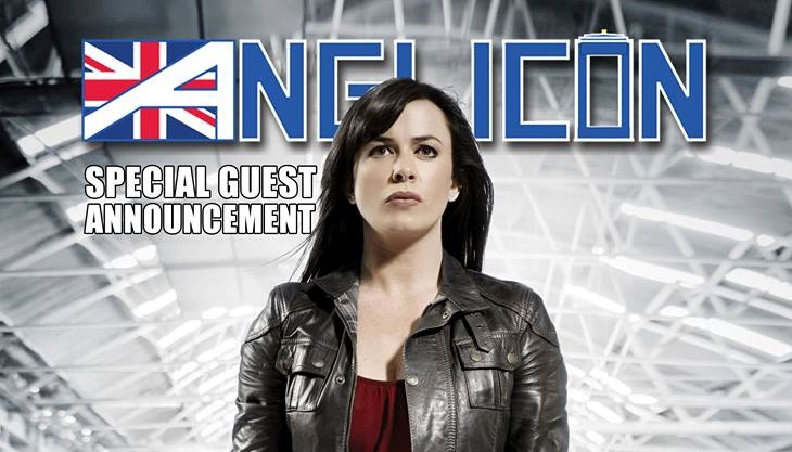 Torchwood's Eve Myles is coming to Anglicon 2018!