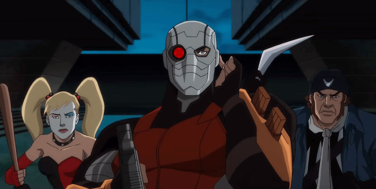 There is 'Hell to Pay' in the trailer for the DC's new Suicide Squad animated film.