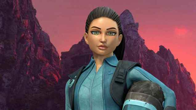 The image is strictly embargoed until 00.01 Monday 30th March 2015 From ITV Studios / Pukeko Pictures / Weta Workshop Thunderbirds Are Go on ITV and CITV Pictured: Kayo. This photograph is (C) ITV Plc and can only be reproduced for editorial purposes directly in connection with the programme or event mentioned above, or ITV plc. Once made available by ITV plc Picture Desk, this photograph can be reproduced once only up until the transmission [TX] date and no reproduction fee will be charged. Any subsequent usage may incur a fee. This photograph must not be manipulated [excluding basic cropping] in a manner which alters the visual appearance of the person photographed deemed detrimental or inappropriate by ITV plc Picture Desk.  This photograph must not be syndicated to any other company, publication or website, or permanently archived, without the express written permission of ITV Plc Picture Desk. Full Terms and conditions are available on the website www.itvpictures.com For further information please contact: james.hilder@itv.com / 0207 157 3052