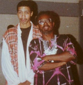 Back in the Day L: Damion Gonzales, R: Zeno Obi Constance