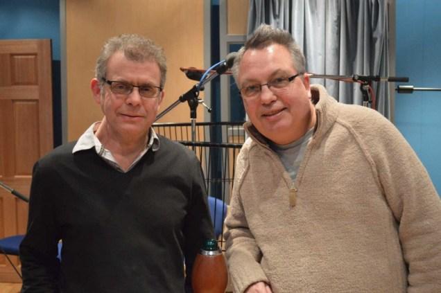 Richard Kurti and Bev Doyle