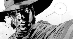 Walking Dead Carls Eye_No Way Out comic