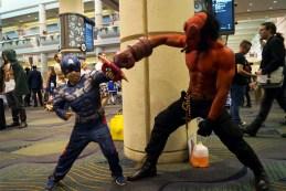 Ryan fights Hell Boy