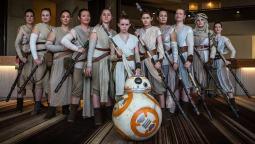 Bill Waters Jedi_Heidi Fisher Charley Todd Jessica Maio Kristen Jones and Loren Omer