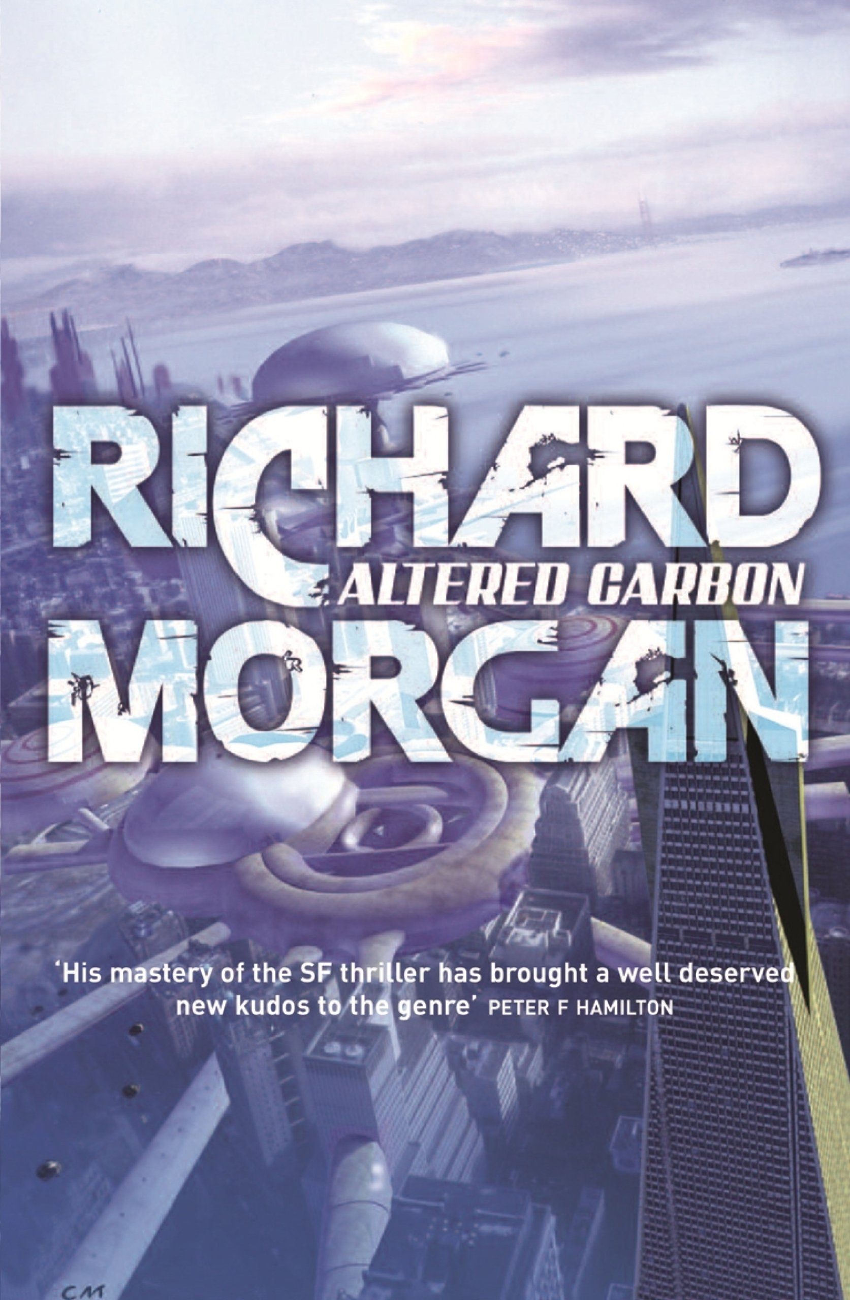 Altered Carbon forside