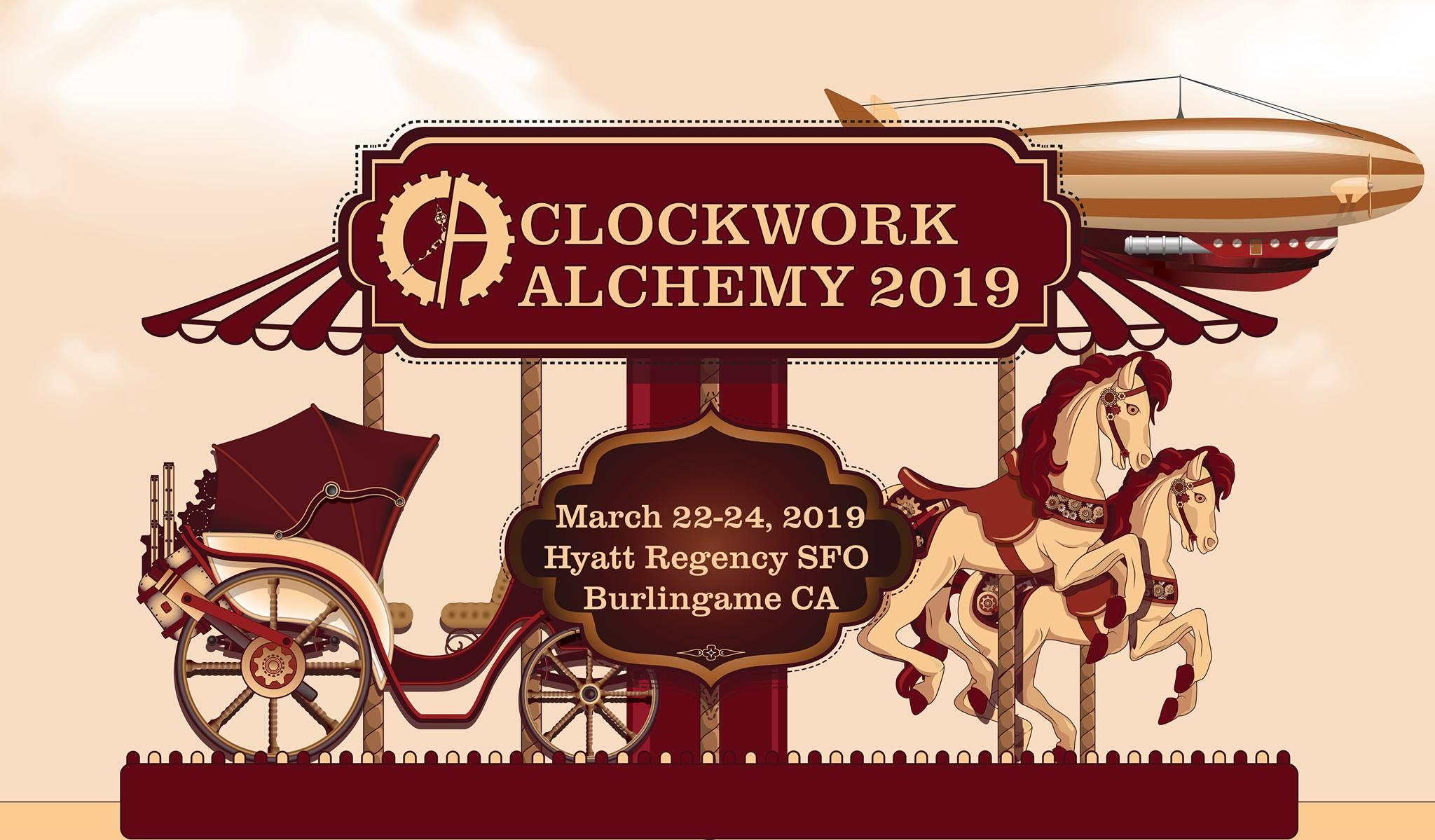 steampunk clockwork alchemy 2019 convention