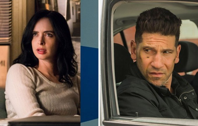 jessica jones and the punisher canceled on netflix