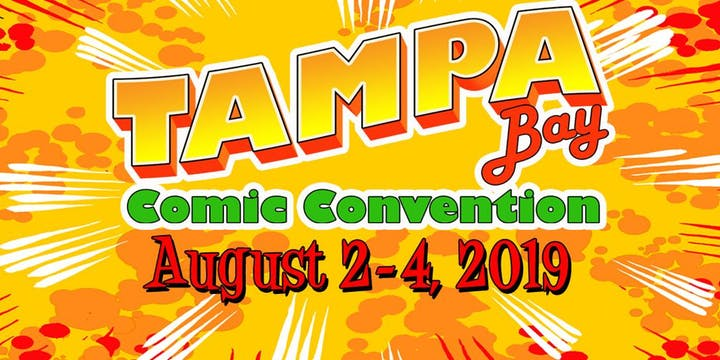 tampa bay florida comic convention