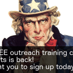 FREE outreach training class for scientists is back!