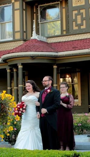 David's wedding Emily officiant