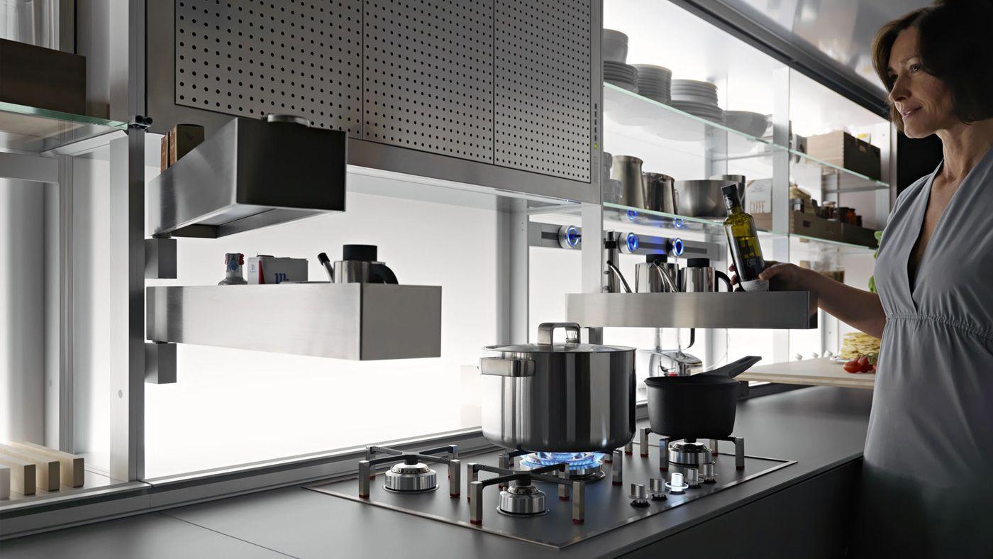 VALCUCINE NEW LOGICA SYSTEM  Design Gabriele Centazzo