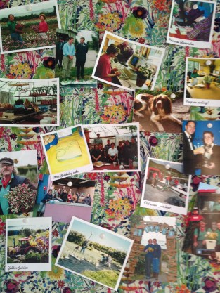 The pinboard of lovely memories