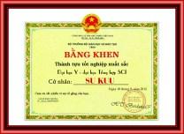 Bằng tốt nghiệp - Su Kuu