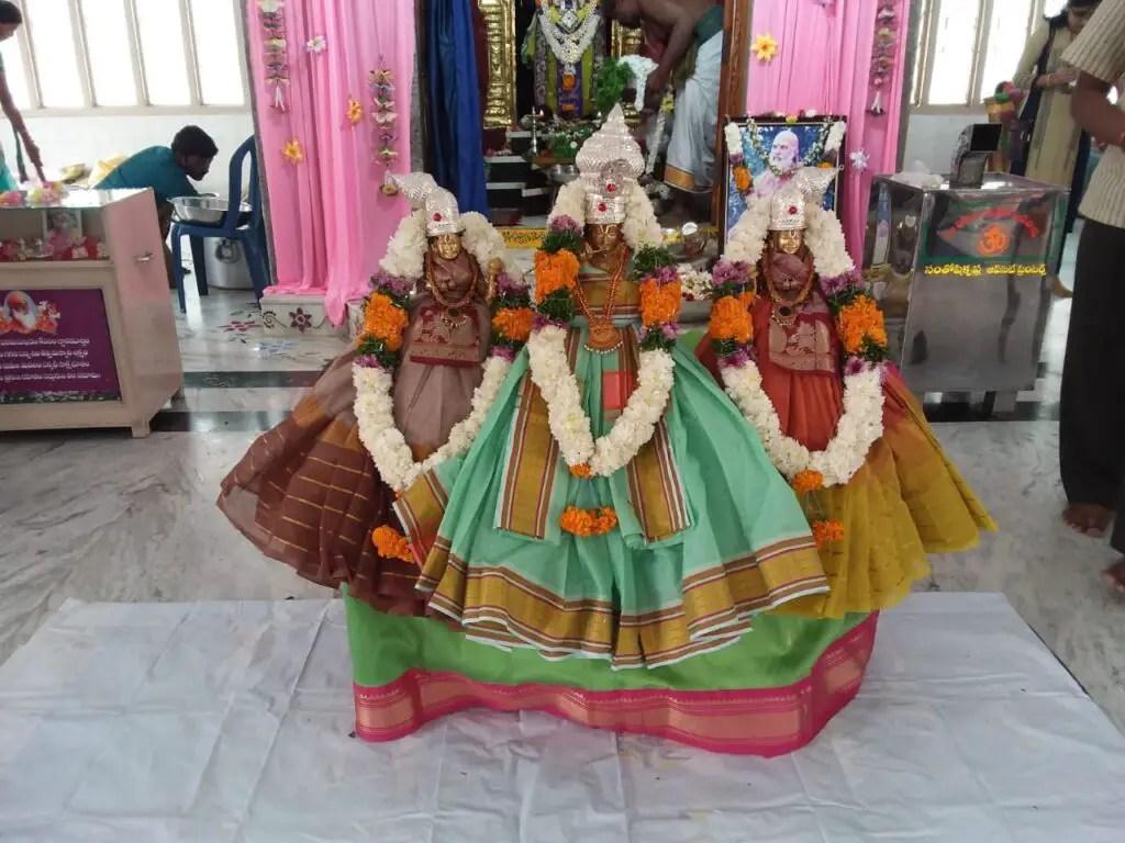 Andal with Ranganatha Swamy