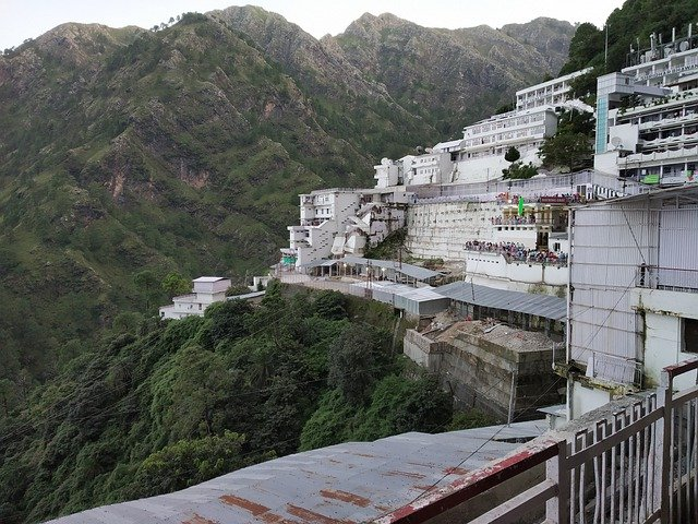 Vaishno Devi temple in Jammu.