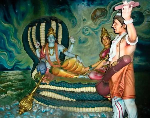 Narada in the 24 Avatars of Vishnu