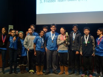 3rd Place: Friedell Team Black