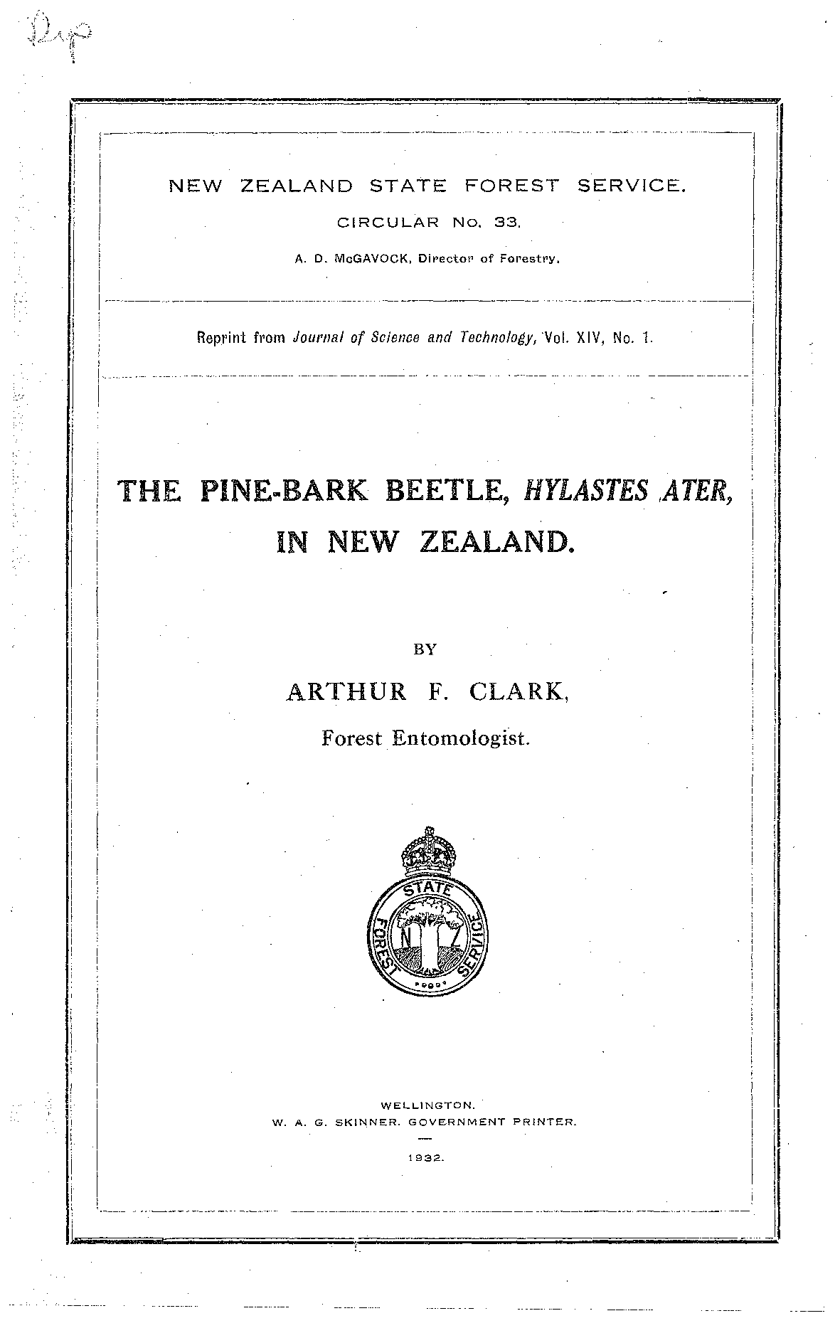 hight resolution of the pine bark beetle hylastes ater in new zealand