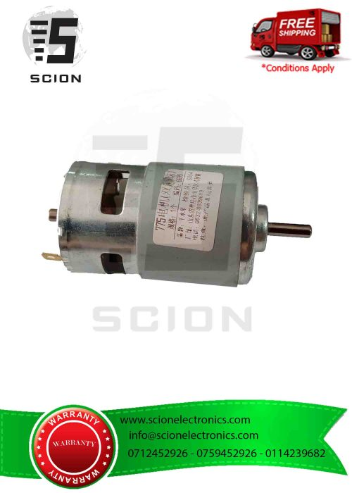 small resolution of 12 24v double ball bearing 775 high speed large torque dc motor