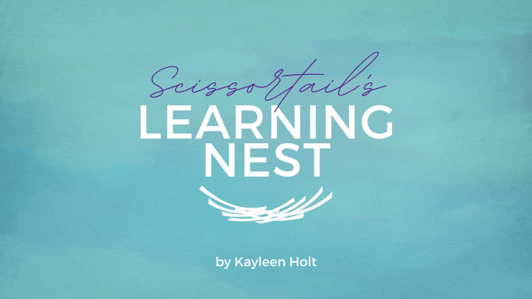 eLearning blog title: Scissortail's Learning Nest by Kayleen Holt