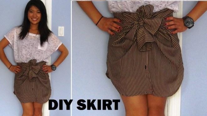mens shirt into skirt