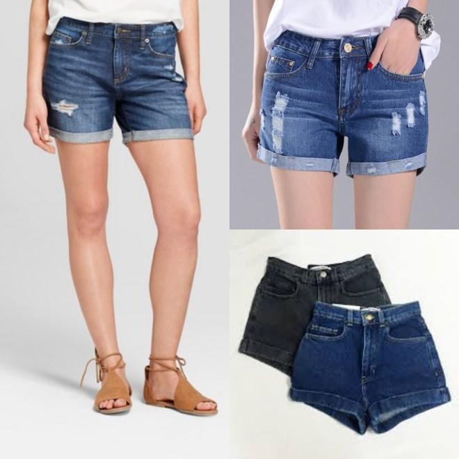 cuff shorts