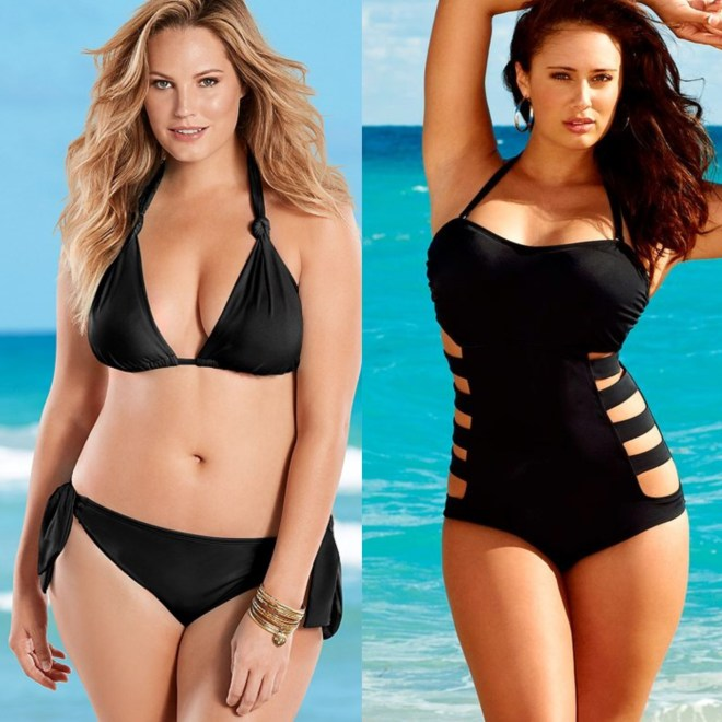 swimsuits according to body type