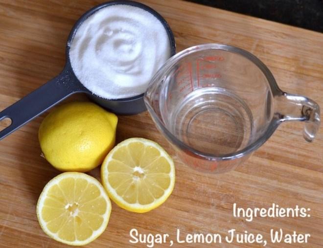 Sugar wax recipe